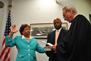 campbell sworn in as mayor resized 300 wide for secondary photo