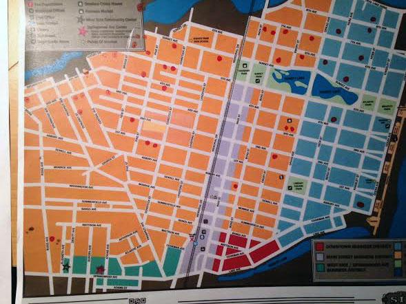 citywide yard sale map-SFI