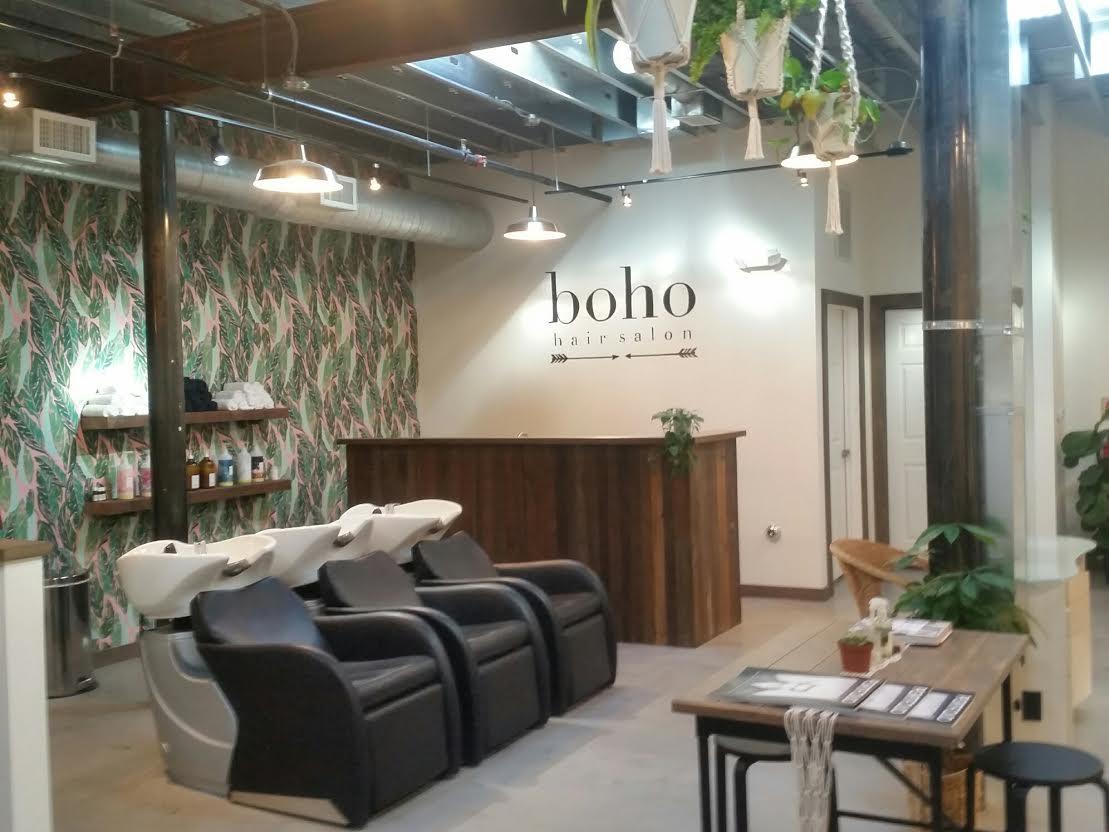 Boho hair salon opens in lakehouse building asbury park sun - Salon boho chic ...