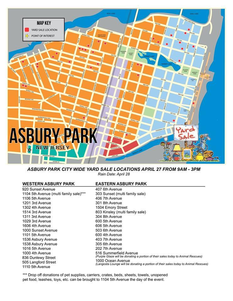 Annual City Wide Yard Sale Returns 9 am to 3 pm Saturday ‹ Asbury