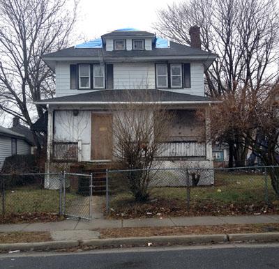 abandoned home on mattison